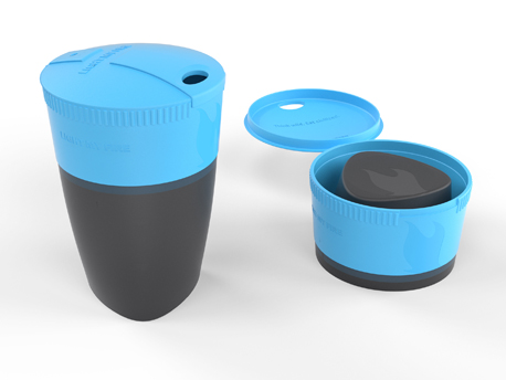 LMF Pack-up-Cup Cyan Blue