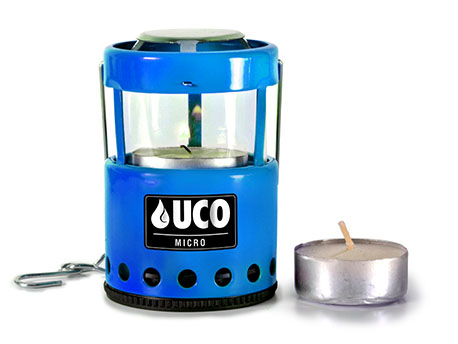 Uco Micro Candle Lantern Blue