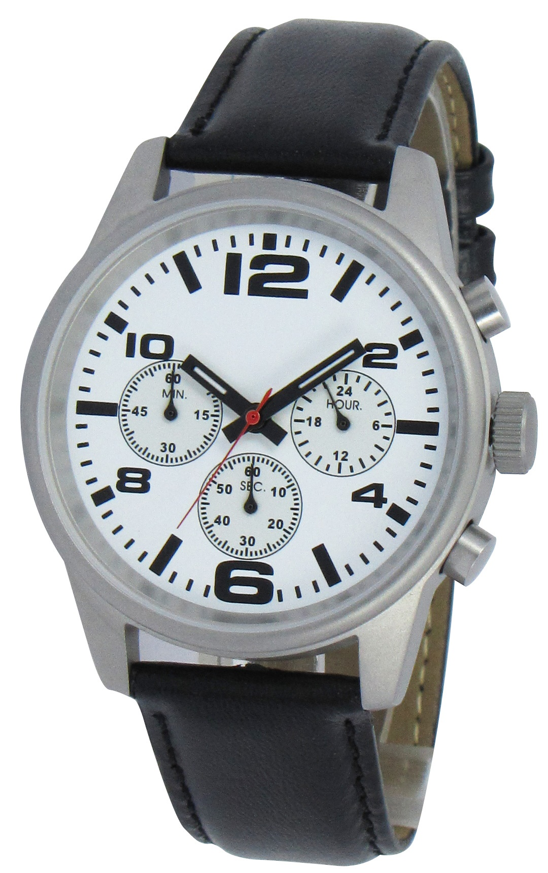 Chronograaf herenhorloge Adelaide wit