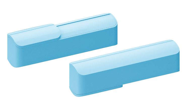 Powerbank Slide blauw