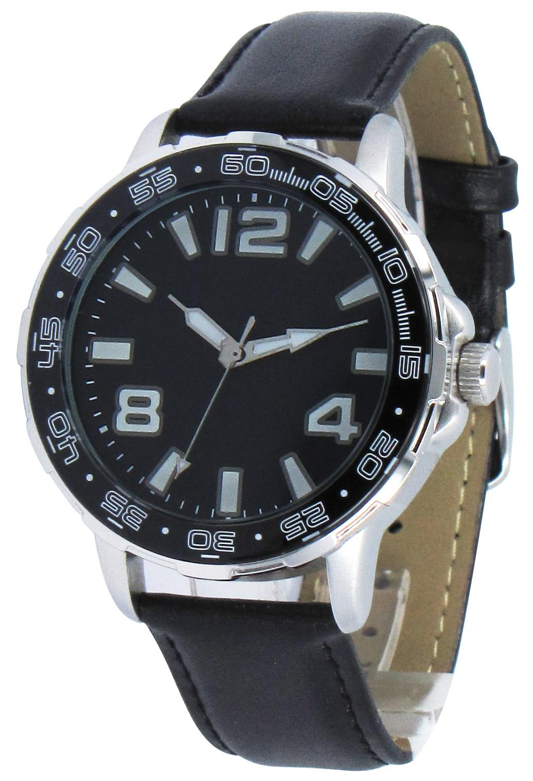 Tobago herenhorloge zwart