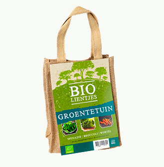 Bio-lientjes - Groentetuin (Jute)