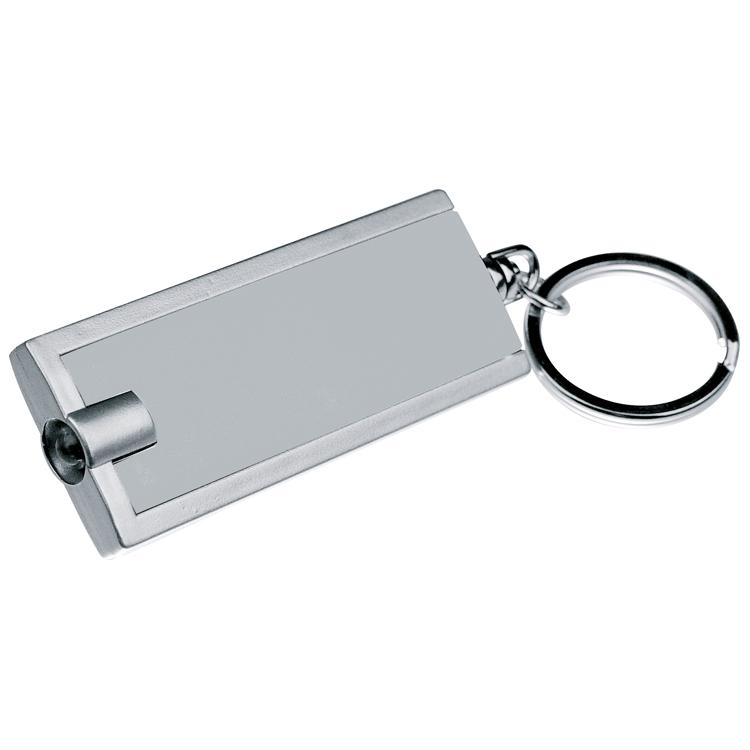 Sleutelhanger met wit LED lampje
