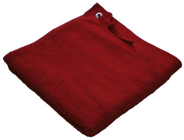 Beaulise Premium strandlaken 100x180cm. Kleur rood