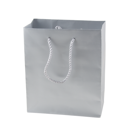 Mat gelamineerde papieren tas