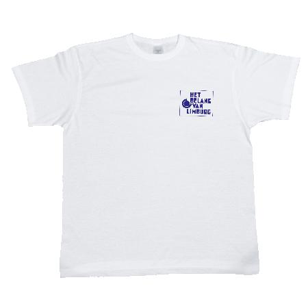 T-shirt 150 gr/m² wit - L