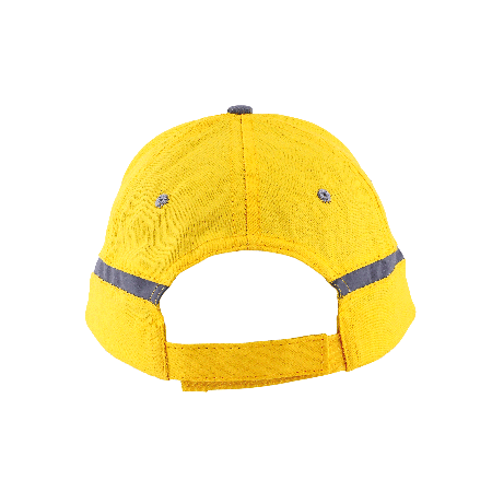 Cap 5 panel met reflecterende band