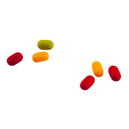 Flowpack met  fruitpastilles