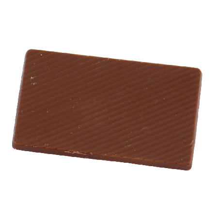 Chocolade tablet (puur) 10,5 gr. Barry Callebaut, full colour op wikkel