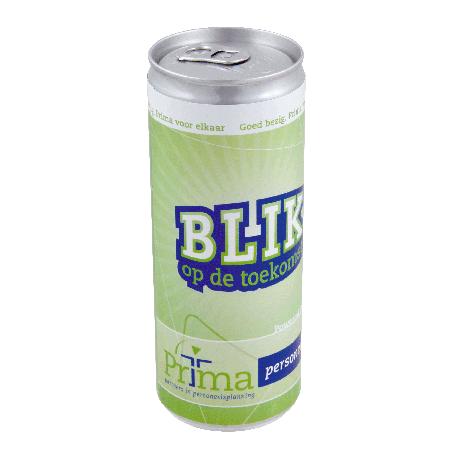 Blikje energy drink