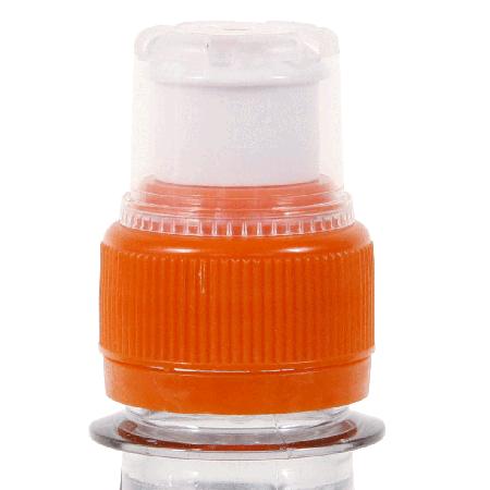 Ronde waterfles 500 ml. met sport dop