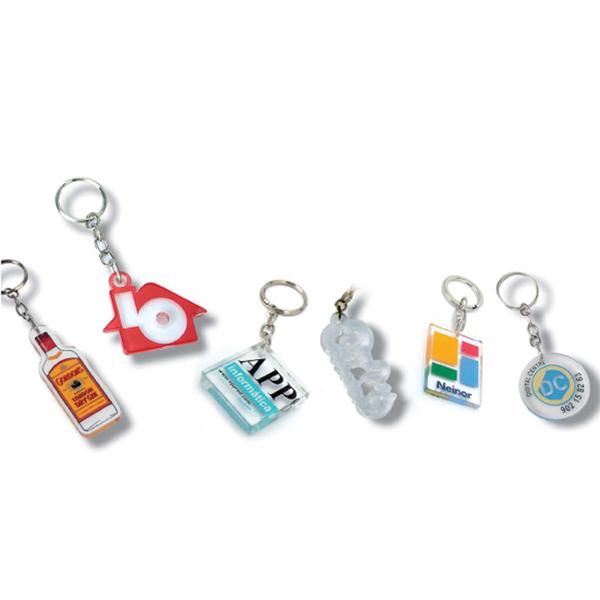Acryl sleutelhanger