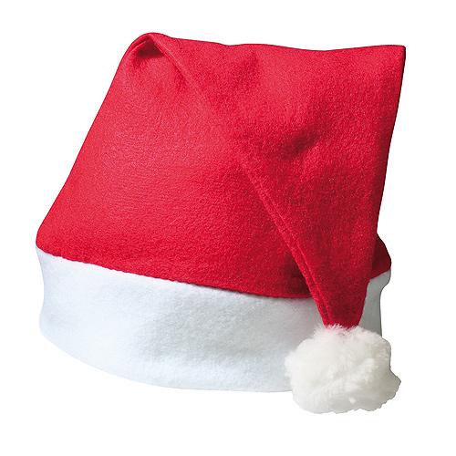 Weihnachtsmütze, rot