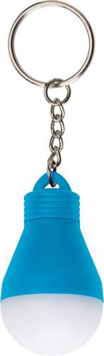 Kunststof sleutelhanger model 'lampje'