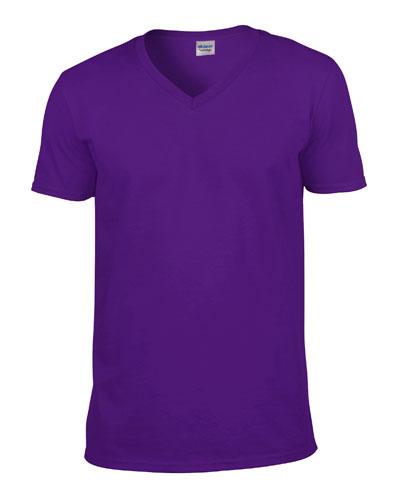 Gildan T-shirt V-Neck SoftStyle for him