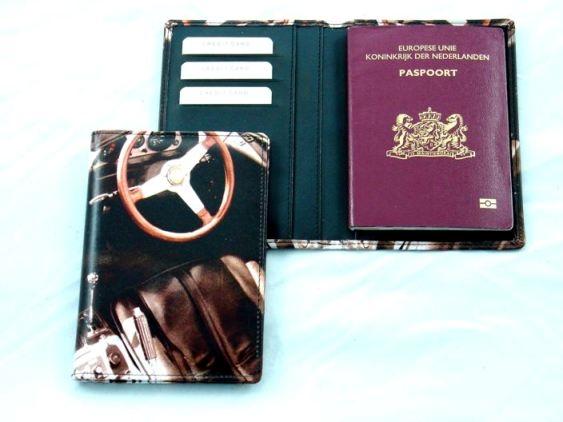 Paspoort houder met digitale print naar keuze
